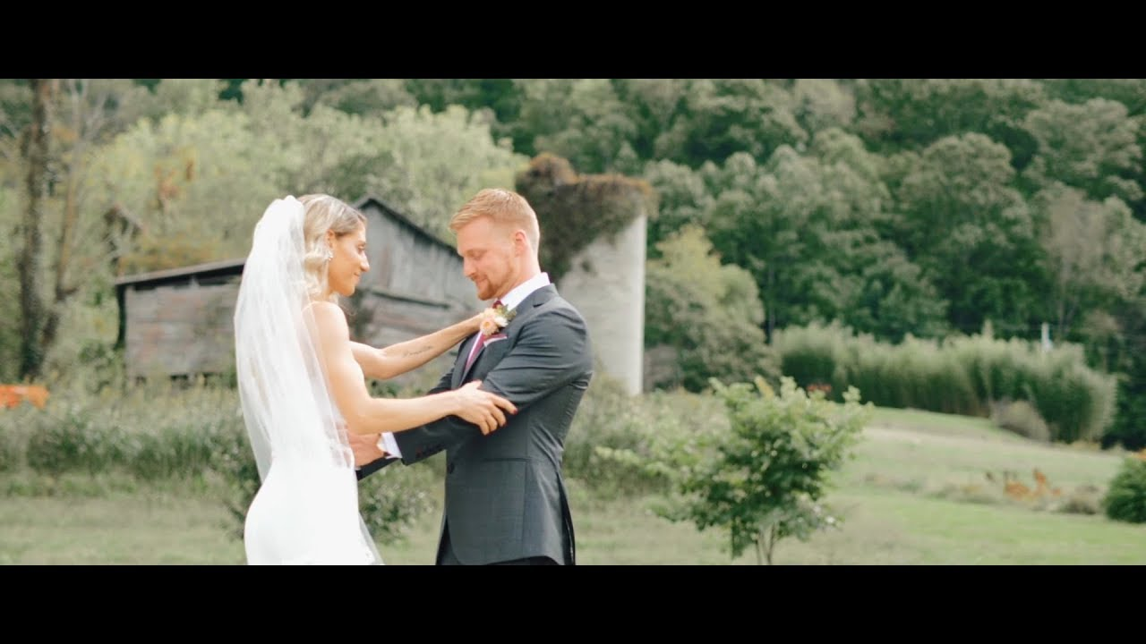 The Most Heartfelt Vows on a Flower Farm in NC.