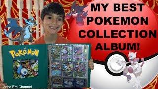 My Best Pokemon Card Collection Album! Megas, EXes & Faves! Jenna Em Channel