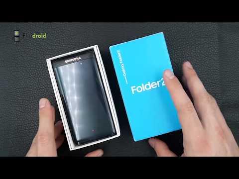 Раскладушка Samsung Folder 2 SM G1650 самый крутой раскладной смартфон с полной русификацией!