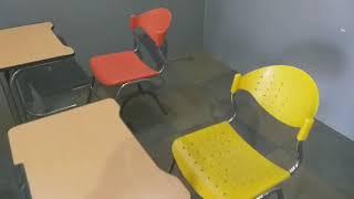 (중고가구-판매중) 학원용 1인용 책상 의자 세트 팝니…