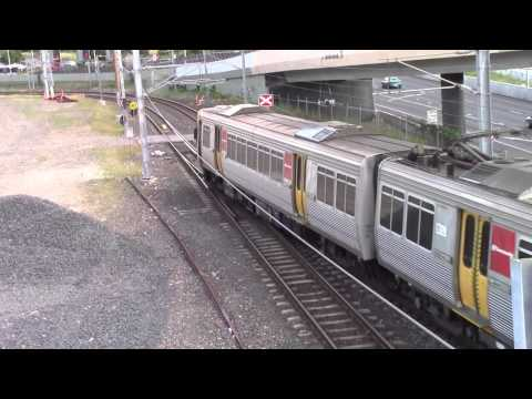 Mixed Brisbane Passenger Trains