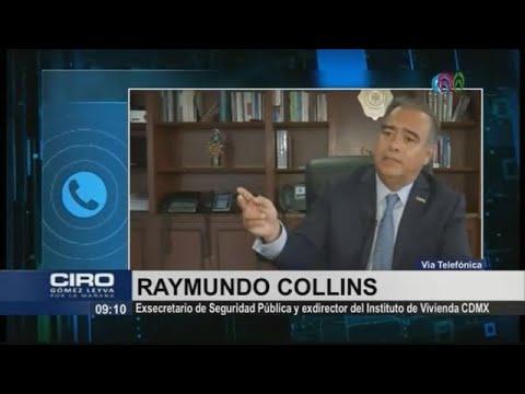 No hay orden de aprehensión en mi contra: Raymundo Collins
