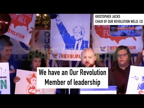 PART II: Our Revolution Chair Kris Jacks Reveals Depth of Infiltration In Colorado Democratic Party