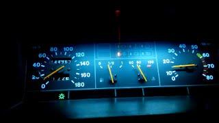 Установка светодиодной ленты в приборную панель. ВАЗ 2108 2109 21099(Краткая инструкция как сделать самому за час Светодиодную подсветку приборной панели любого цвета. Цена..., 2016-06-03T20:20:09.000Z)