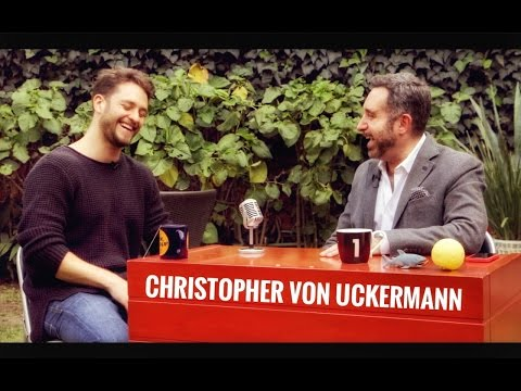 CHRISTOPHER VON UCKERMANN en #EnLaLunaGuzmán !!