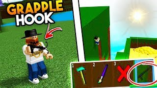 roblox obby with grapple hook
