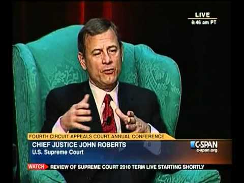 Chief Justice Roberts on Cameras in the Court