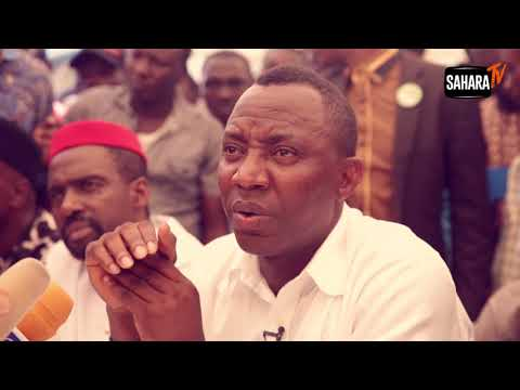 Nigeria's Constitution Must Be Rewritten, Says Sowore, As He Declares Under AAC