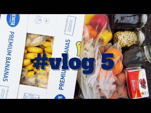 #vlog 5 - maisto haul / Gautos siuntos / Apie vitaminus / Vegan Pipiras