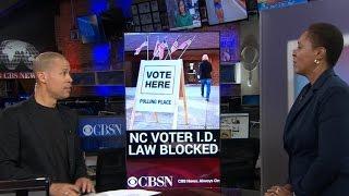 North Carolina voter ID law overturned