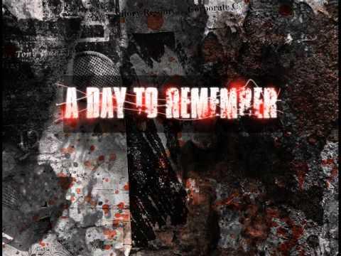 A Day To Remember, Sticks & Bricks.(Lyrics)