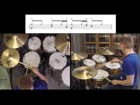 Shake Your Body (Down To The Ground) - The Jacksons/Ed Greene Drum Lesson by Kai Jokiaho
