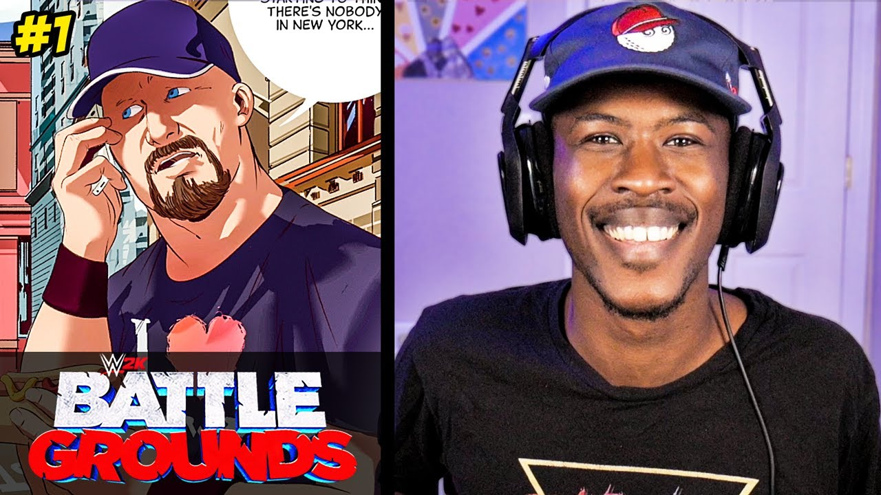 WWE 2K Battlegrounds Campaign #1 (Getting Signed to WWE)