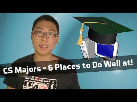 6 Places to Do Well At for Computer Science Majors