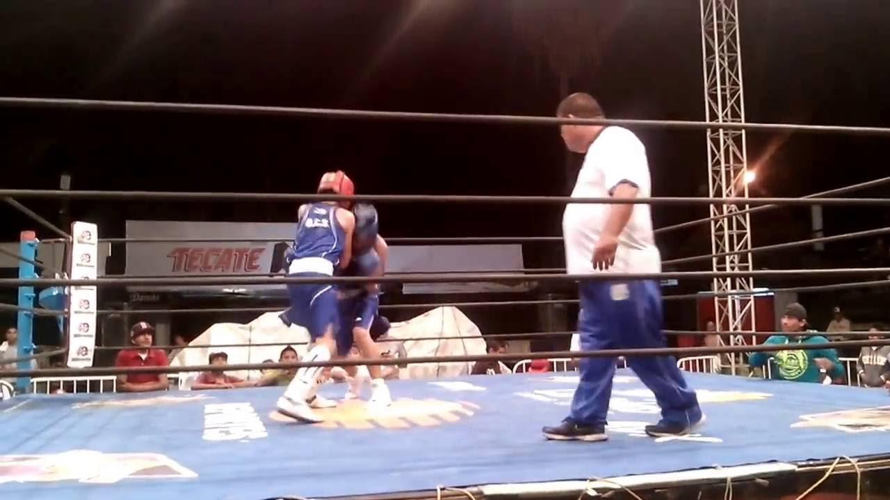 Paul Gonzalez Vs Mario Diaz...tato Boxeo La Paz Bcs