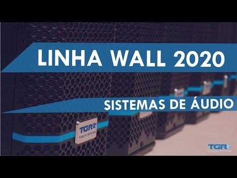 CONHEÇA A LINHA WALL 2020. Colunas ativas para suas instalações fixas. By Taigar System.