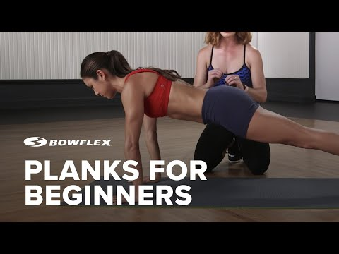 Planks for Beginners: How to do a Plank