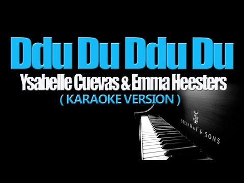 DDU DU DDU DU - (BLACKPINK) Ysabelle Cuevas & Emma Heesters (KARAOKE VERSION)