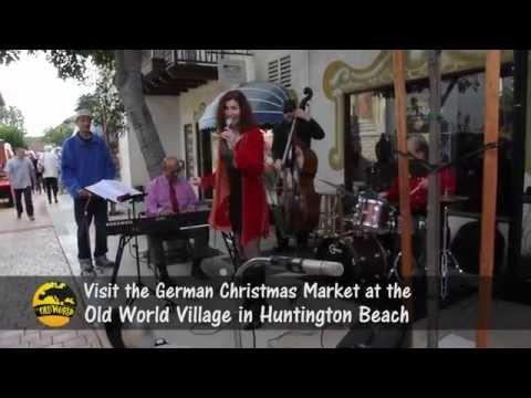 German Christmas Market Old World Village Huntington Beach