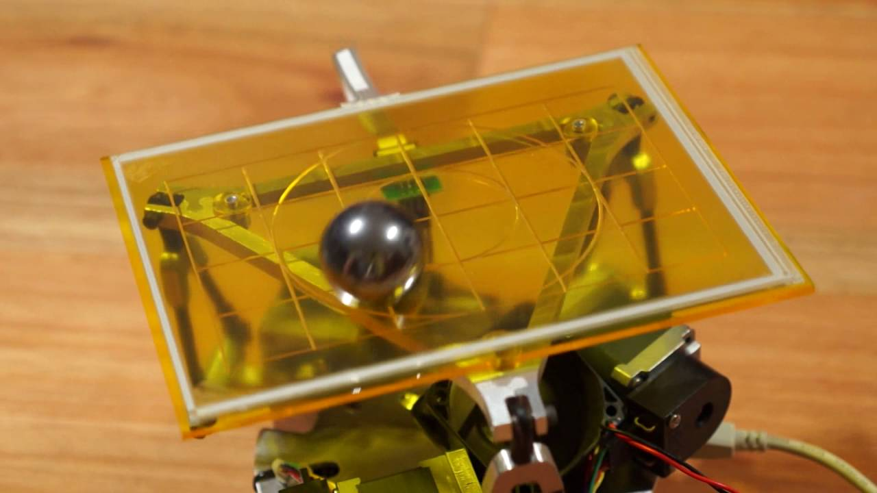 3DOF Ball on Plate Using Closed Loop Stepper Motors: 13 Steps (with
