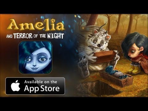 Amelia and Terror of the Night - App for Android and IOS