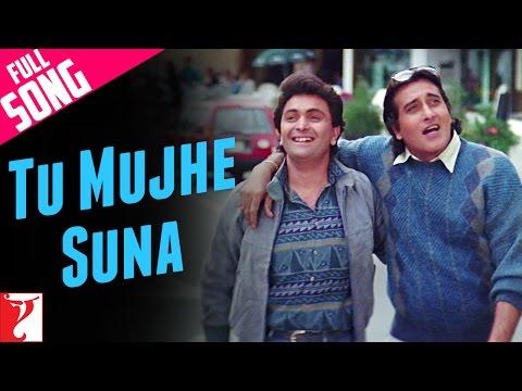 Tu Mujhe Suna  Full Song  Chandni  Rishi Kapoor  Vinod Khanna