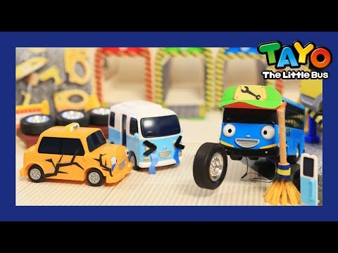 Tayo Clitter clatter the skilled mechanic l Tayo's Sing Along Show 1 l Tayo the Little Bus