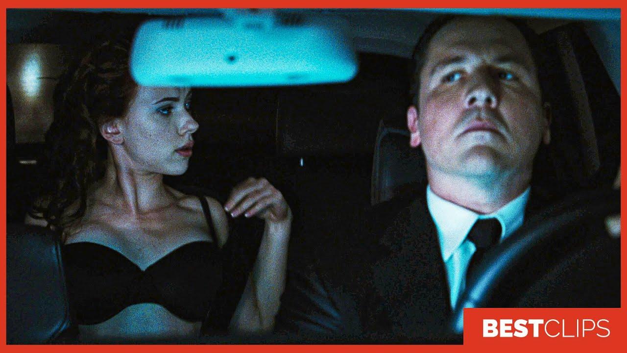 "Download Natasha ""Watch The Road"" Scene - Black Widow Vs Hammer Security | Iron Man 2 (2010) Movie CLIP 4K"