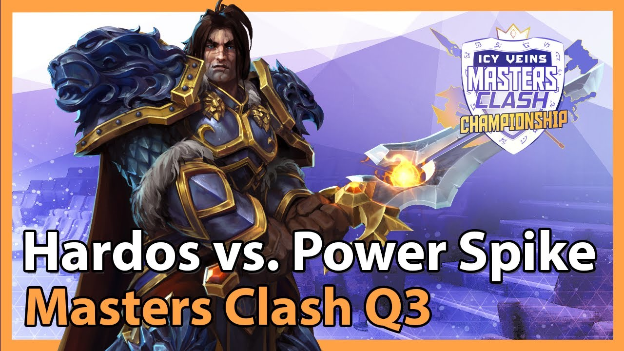 Hardos vs. Power Spike - Masters Clash Q3 - Heroes of the Storm