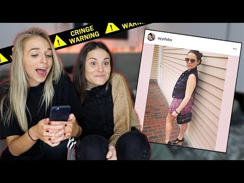 BEST FRIEND ROASTS MY OLD INSTAGRAM PICS | Collaborations | AYYDUBS