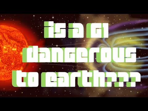 IS G1 DANGEROUS?  THE GEOMAGNETIC STORM SCALE