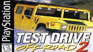 Jogando Test Drive Off Road 2 de PlayStation 1