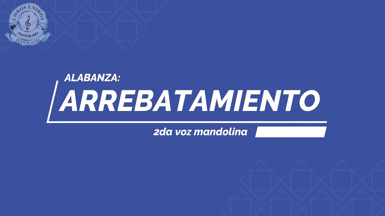 Arrebatamiento - 2da voz mandolina