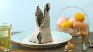 Napkin Bunny Fold