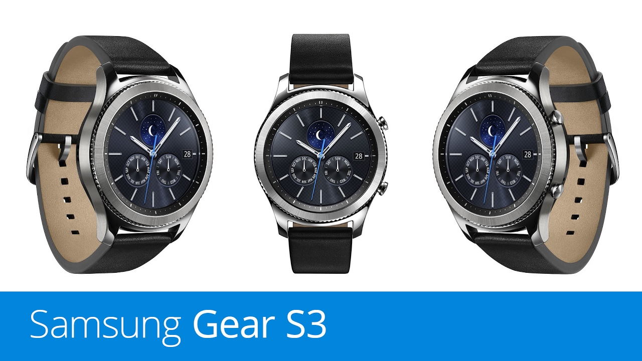 Samsung Gear S3 (recenze) - YouTube 6bf343ab64