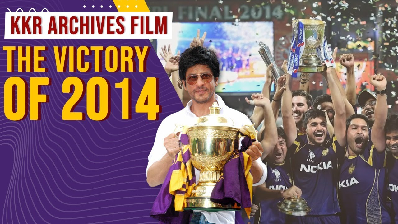 KKR Archives Film: The victory of 2014 | SRK, Gambhir, Uthappa, Venky Mysore and others