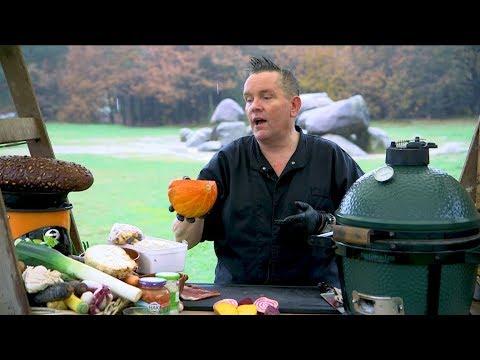Oer Lekker Drenthe #Foodvlog - Hunebedden - Lekkere gerookte kippendijen