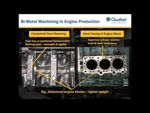 Lubrication & Metalworking Fluid Performance in the Machining of Bi-Metal Components