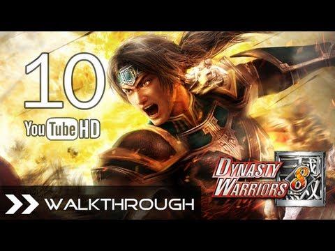 Dynasty Warriors 8 Walkthrough - Part 10 Historical Route (Jin Story - Zhuge Dan's Rebellion)