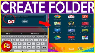 How To Make/Create Folders On Android? Tutorial in tamil   Kanagu   Mobile phone service