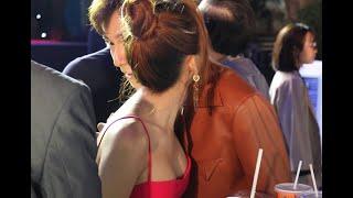 Ngô Kiến Huy và Sam vẫn quấn nhau như sam khi dự ra mắt phim của Thu Trang