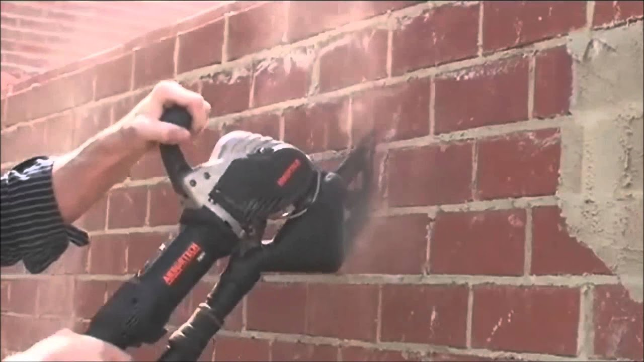 how to cut brick without a saw
