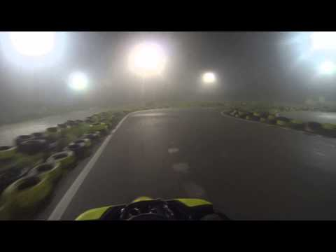 GoKart-ing in bad weather conditions. | Kartodrom 3 | Tirana, Albania | GoPro Hero 3 Black