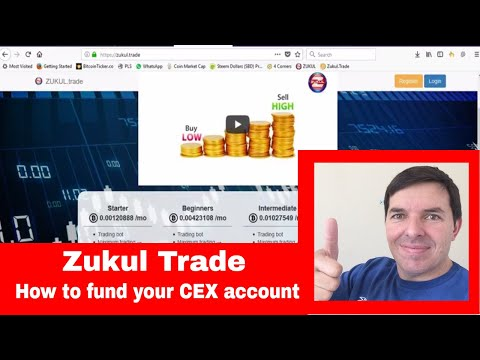 Zukul Trade How to fund your CEX account for the Zukul Trading Bot