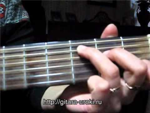 Разбор песни на гитаре Мамины руки - Виктория Юдина