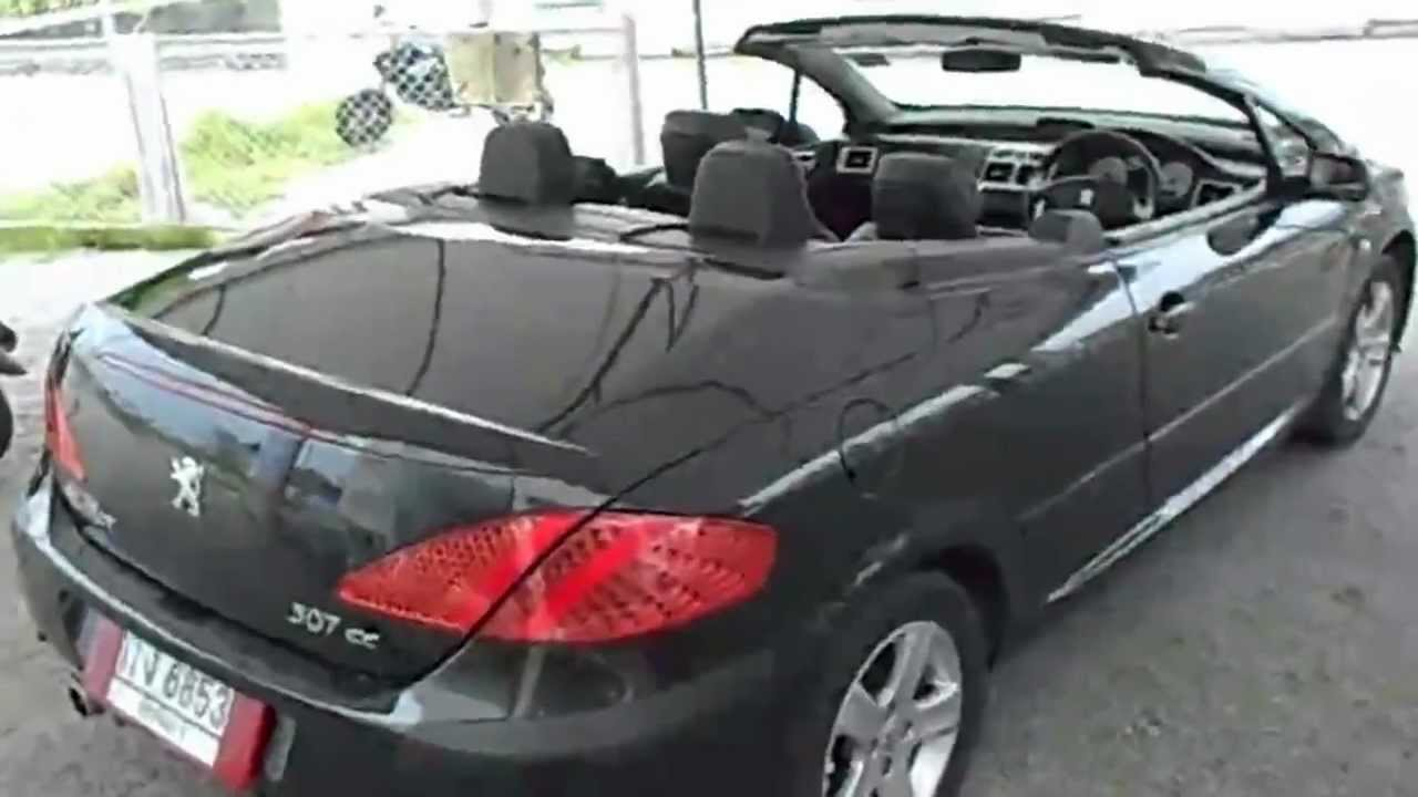 peugeot 307cc 1 6 a t for sale 2006 at euro thai car. Black Bedroom Furniture Sets. Home Design Ideas