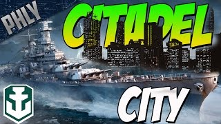 CITADEL CITY - World Of Warships - IOWA BATTLESHIP GAMEPLAY!