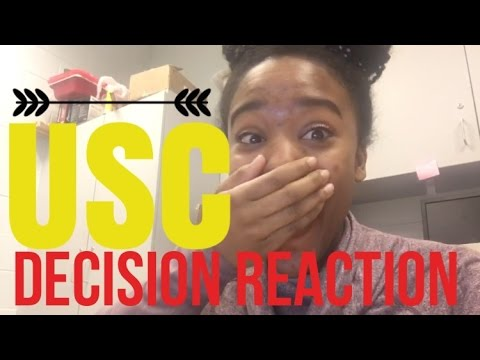 University of Southern California (USC) Admissions Decision Reaction 2016