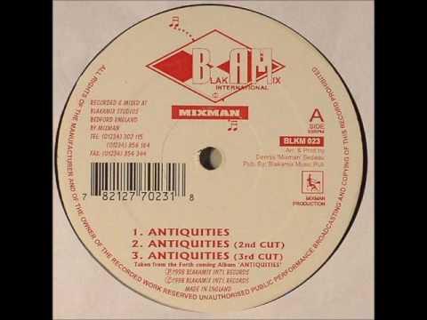 Mixman - Antiquities + Antiquities 2nd Cut + Antiquities 3rd Cut