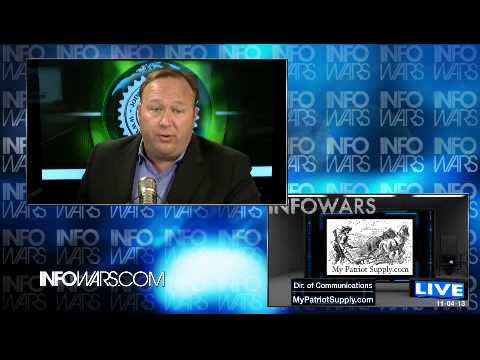 2013-11-04 THE ALEX JONES SHOW PRISONPLANET TV